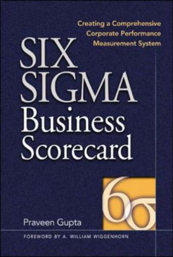 9780071417303: Six Sigma Business Scorecard: Ensuring Performance for Profit