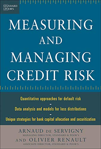 9780071417556: Measuring and Managing Credit Risk (Standard & Poor's Press)