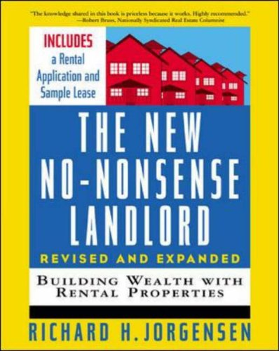 9780071417938: The New No-Nonsense Landlord, Revised and Expanded: Building Wealth with Rental Properties (Revised and Expanded Edition)