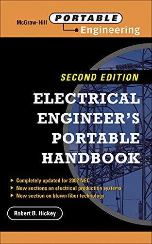 9780071418201: Electrical Engineer's Portable Handbook