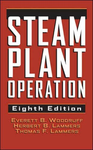 9780071418461: Steam Plant Operation