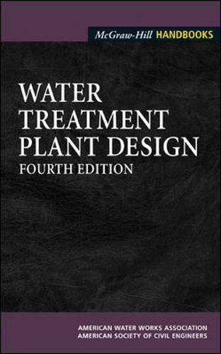 Water Treatment Plant Design (McGraw-Hill Handbooks): American Water Works