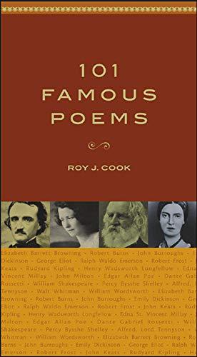 9780071419307: 101 Famous Poems