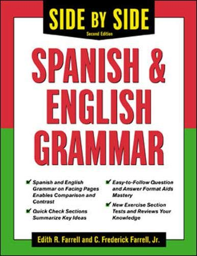 9780071419321: Side-By-Side Spanish and English Grammar