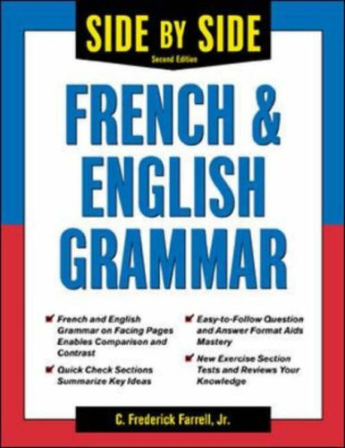 9780071419338: Side-By-Side French and English Grammar (Side-By-Side Grammar)