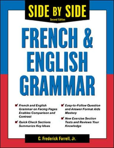 9780071419338: Side-By-Side French and English Grammar