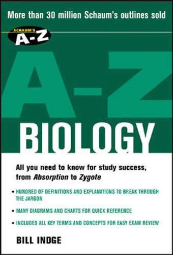 9780071419345: Schaum's A-Z Biology