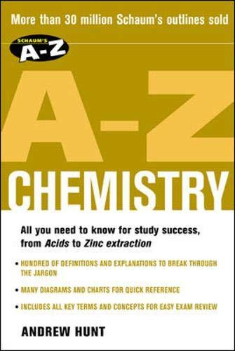 9780071419352: Schaum's A-Z Chemistry