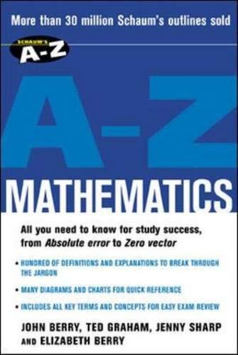 9780071419369: Schaum's A-Z Mathematics
