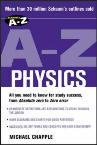 9780071419376: Schaum's A-Z Physics