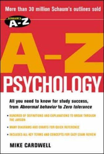9780071419383: Schaum's A-Z Psychology
