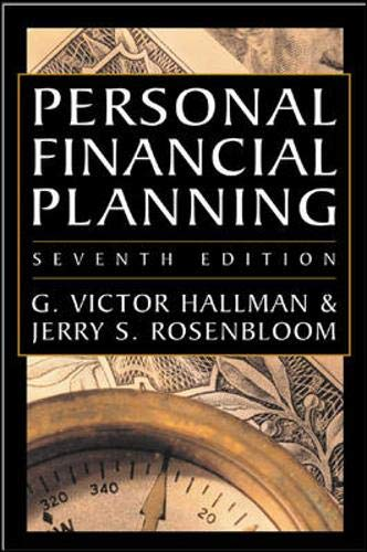 9780071419444: Personal Financial Planning