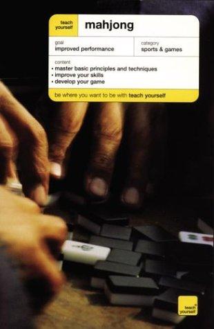 9780071419789: Teach Yourself Mahjong (Teach Yourself (McGraw-Hill))