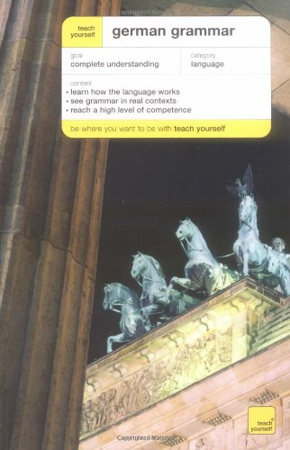 9780071419918: German Grammar (Teach Yourself... Grammar)