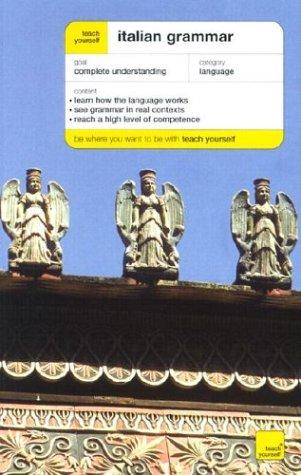 9780071419932: Teach Yourself Italian Grammar