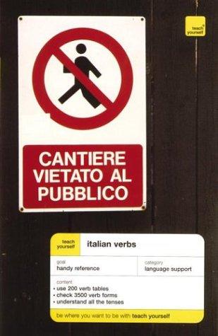 9780071419949: Teach Yourself Italian Verbs