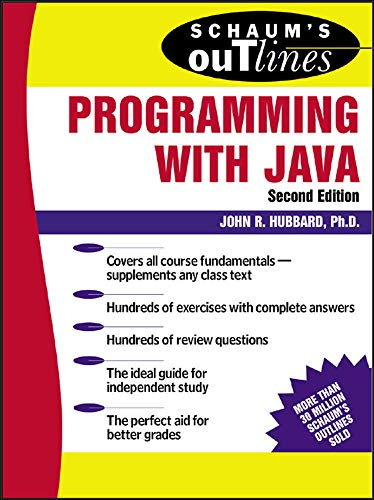 9780071420402: Schaum's Outline of Programming with Java