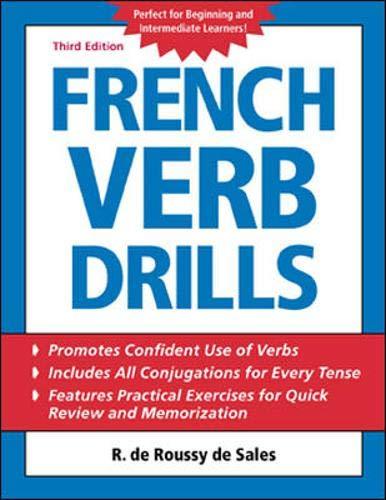 9780071420877: French Verb Drills (Language Verb Drills)