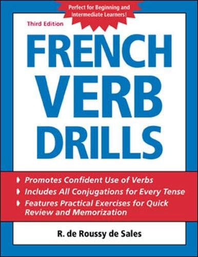 9780071420877: French Verb Drills (Language Verb Drills)