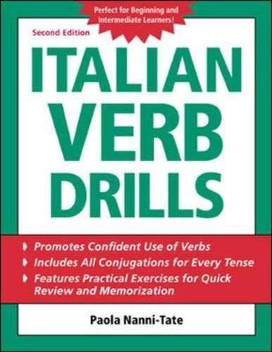 9780071420891: Italian Verb Drills