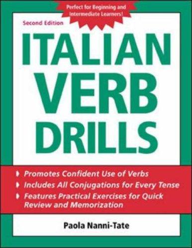 9780071420891: Italian Verb Drills (BGR12)