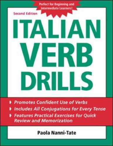 9780071420891: Italian Verb Drills (BGR12)