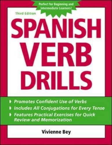 9780071420907: Spanish Verb Drills (Bgr12)