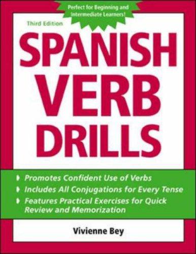 9780071420907: Spanish Verb Drills