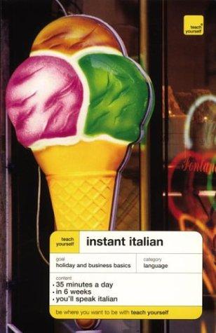 9780071421157: Teach Yourself Instant Italian