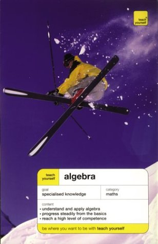 9780071421263: Teach Yourself Algebra