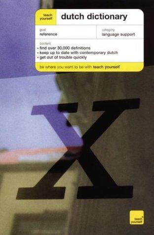 9780071421386: Dutch Dictionary: English-Dutch, Dutch-English (Teach Yourself)