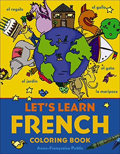 9780071421416: Let's Learn French Coloring Book (Juv. Lang)
