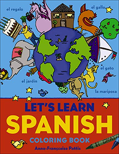 9780071421423: Let's Learn Spanish Coloring Book (Let's Learn Coloring Books)