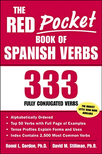 9780071421621: The Red Pocket Book of Spanish Verbs : 333 Fully Conjugated Verbs
