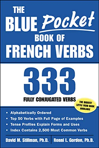 9780071421638: The Blue Pocket Book of French Verbs: 333 Fully Conjugated Verbs (Language-Learning Favorites)