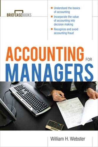 9780071421744: Accounting for Managers (Briefcase Books Series)