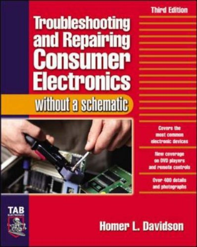 9780071421812: Troubleshooting & Repairing Consumer Electronics Without a Schematic (TAB Electronics)