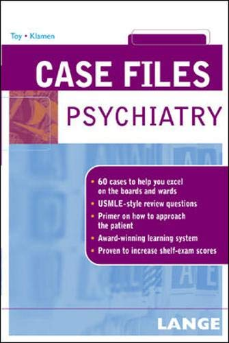 9780071421829: Case Files: Psychiatry