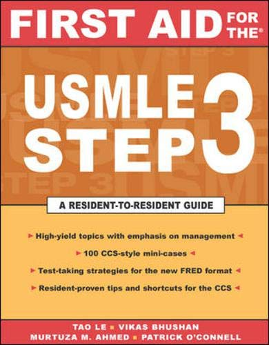 9780071421836: First Aid for the USMLE Step 3 (First Aid for USMLE Step 3)