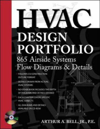 9780071421867: HVAC Design Portfolio: 865 Airside Systems Flow Diagrams and Details