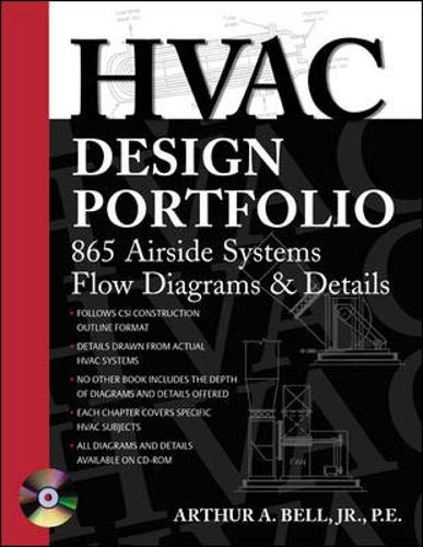 9780071421867: HVAC Design Portfolio : 865 Airside Systems Flow Diagrams and Details