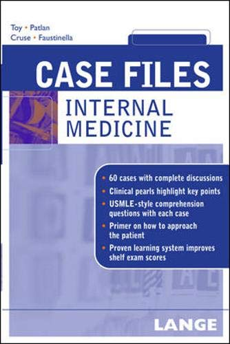 9780071421911: Internal Medicine (Case Files)