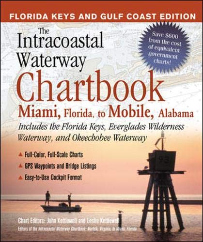 9780071422109: The Intracoastal Waterway Chartbook: Miami, Florida to Mobile, Alabama