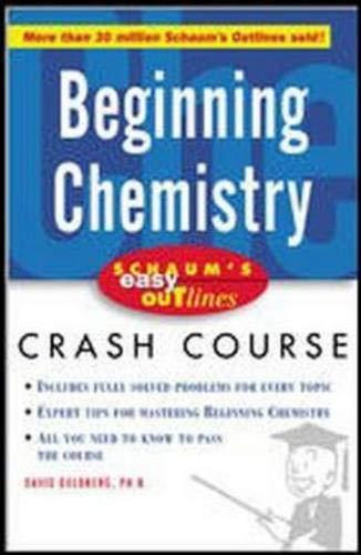 9780071422390: Schaum's Easy Outline of Beginning Chemistry
