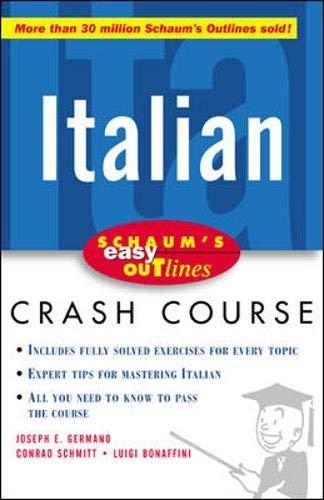 9780071422444: Schaum's Easy Outline of Italian (Schaum's Easy Outlines)