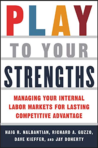 9780071422536: Play to Your Strengths: Managing Your Internal Labor Markets for Lasting Competitive Advantage