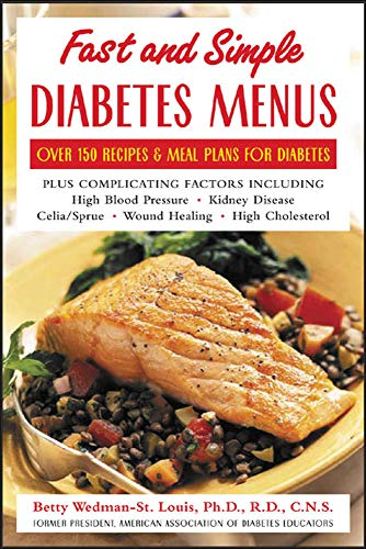 9780071422550: Fast and Simple Diabetes Menus : Over 125 Recipes and Meal Plans for Diabetes Plus Complicating Factors