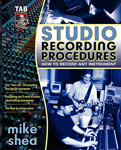 9780071422727: Studio Recording Procedures