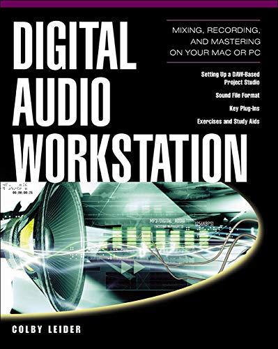 Digital Audio Workstation: Colby N. Leider
