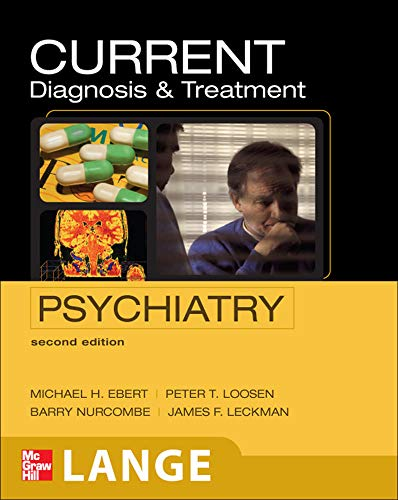 9780071422925: CURRENT Diagnosis & Treatment Psychiatry, Second Edition (LANGE CURRENT Series)